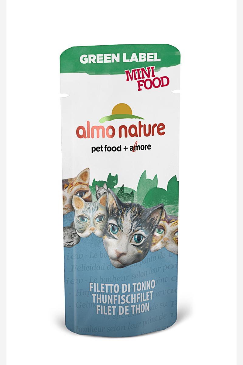Лакомство для кошек Филе Тунца, 99% мяса (Green Label Mini Food Tuna Fillet), 3 г.22599Состав: филе тунца – 99%, рис – 1%.