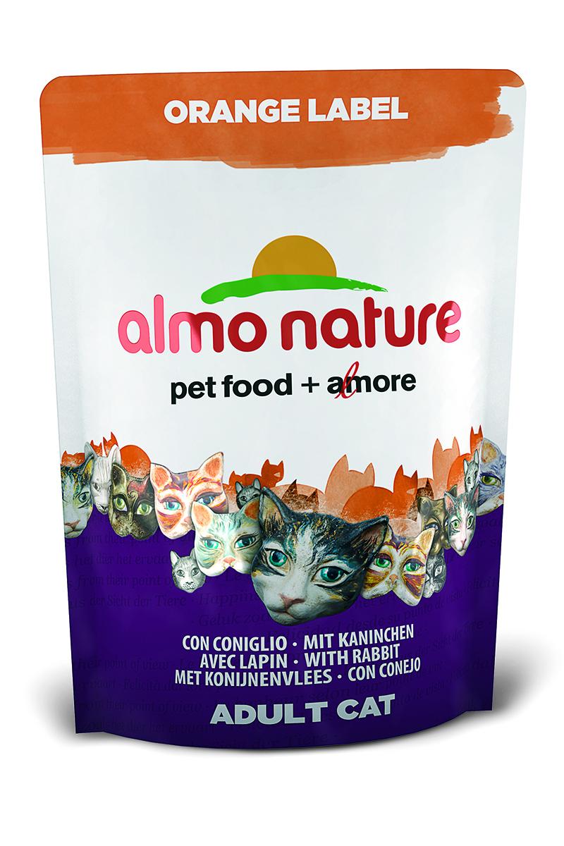 Для Кастрированных кошек с Кроликом (Orange label Cat Rabbit), 105 г.23269Состав: мясо кролика и его производные 48% (из которых 25% свежего мяса и 16% дегидрированного мяса), злаки, масла и жиры, экстракт растительного белка, дрожжи, минералы, субпродукты растительного происхождения. Питательные добавки: таурин 0,6 г/кг, L-карнитин 0,1 г/кг, витамин D3 244 МЕ/кг, витамин Е 122 мг/кг, витамин С 61 мг/кг, Микроэлементы: железо 8 мг/кг, медь 0,1 мг/кг, цинк 49 мг/кг, марганец 0,4 мг/кг Гарантированный анализ: белки – 31,7%, клетчатка – 0,9%, жиры – 16%, зола – 7%, влажность 8%. Калорийность – 3743 ккал/кг