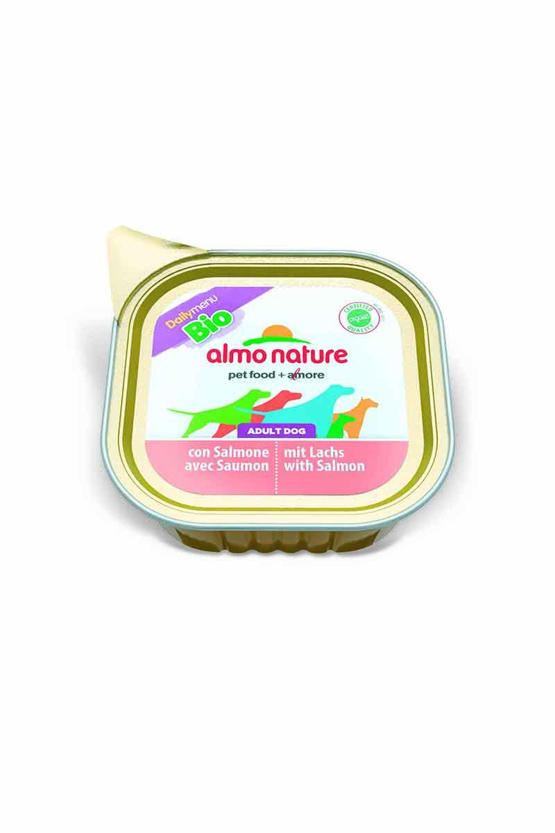 Паштет для собак с лососем (Bio Pate with Salmon), 100 г.10214Состав: Рыба и ее производные 100% органический продукт (30% мяса лосося), мясо и его производные 100% органический продукт (30% мяса), минералы. Питательные добавки: Витамин Е 20мг/кг, медь (сульфат меди) 1мг/кг, цинк (оксид цинка) 20 мг/кг. Гарантированный анализ: Белки 9,5%, Клетчатка 0%, Жиры 6,0%, Зола 2,2%, Влажность 82%.