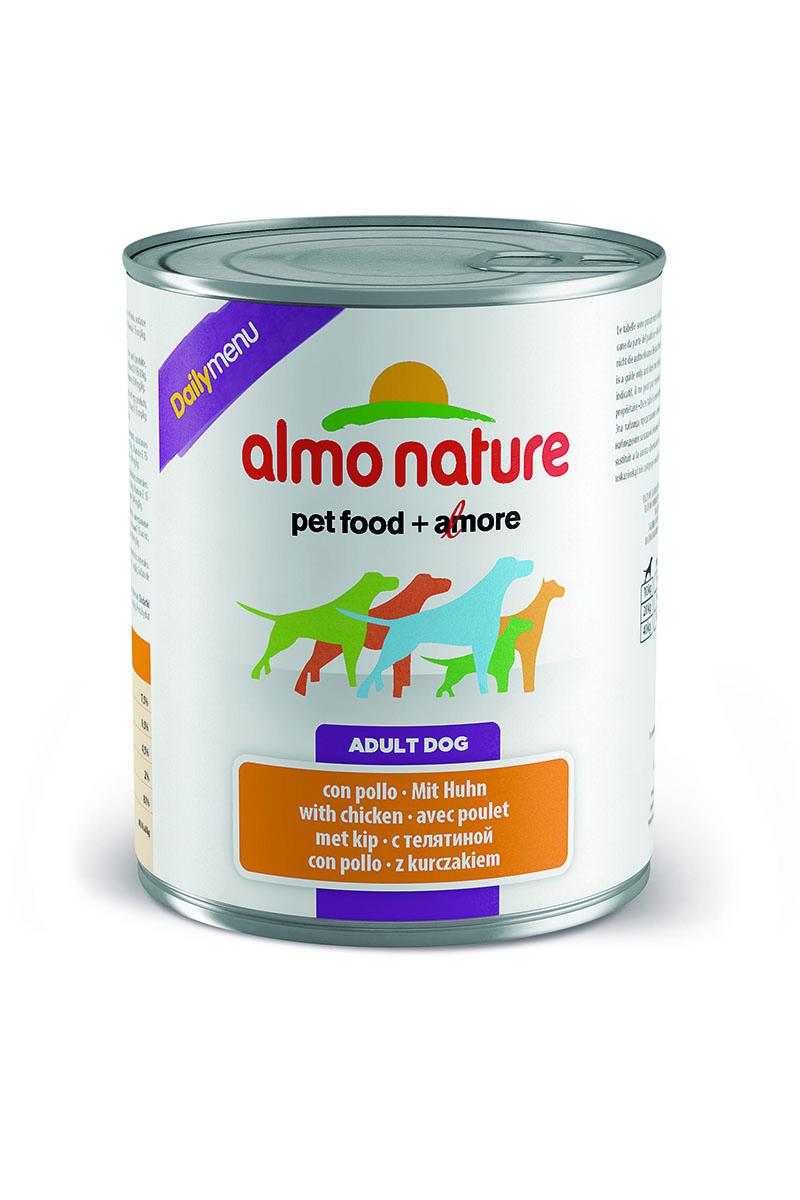 """Консервы для собак Almo Nature """"Daily Menu"""", с курицей, 800 г"""