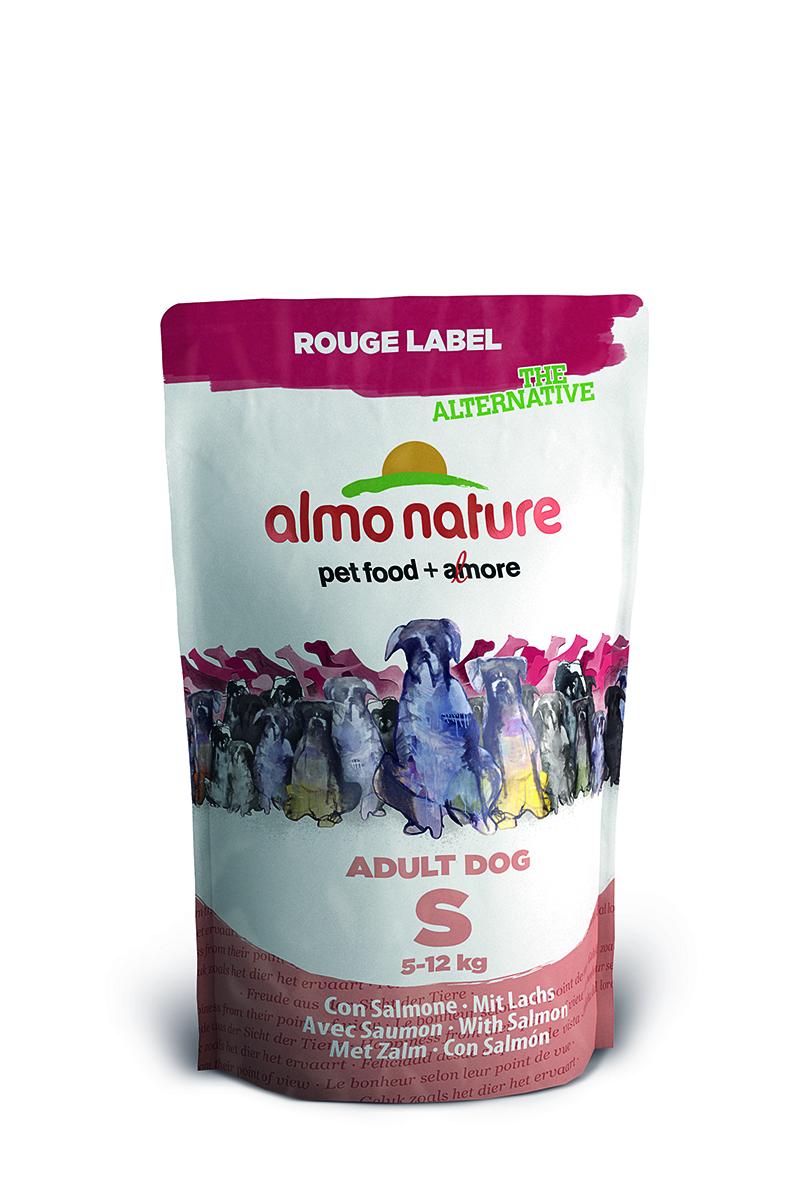 100% Fresh Для Малых пород с Лососем (Rouge label The Alternative Small&Salmon), 750 г.23250Состав: свежее мясо лосося 50%, рис, картофель, свекла, горошек, люцерна, лососевый жир, гидролизованный белок, минералы и витамины. Питательные добавки: Витамин А 25730 МЕ/кг, Витамин D3 1730 МЕ/кг Микроэлементы: аминокислотный-цинка хелат, гидрат 342 мг/кг, сульфат цинка моногидрат 285 мг/кг, сульфат железа моногидрат 309 мг/кг, аминокислотный-железо хелат, гидрат 20 мг/кг, сульфат марганца моногидрат 112 мг/кг, аминокислотный-меди хелат, гидрат 51 мг/кг, сульфат меди пентогидрат 41 мг/кг, йодат кальция, безводный 1,57 мг/кг, селенит натрия 0,51 мг/кг Гарантированный анализ: белок – 27%, клетчатка – 2,5%, жиры – 16%, зола – 7,5%, влажность – 8,5%