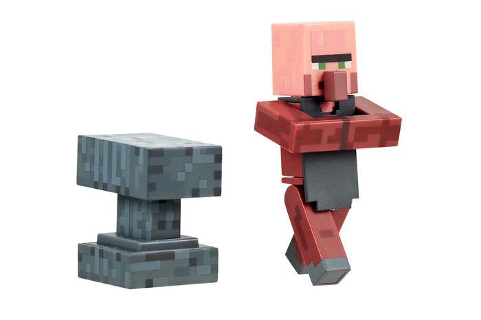 Фигурка Minecraft Blacksmith Villager Кузнец с аксессуарами 8см16512Фигурка Кузнец из игры Minecraft (Майнкрафт).В комплекте с фигуркой: кубик. Материал - пластик.