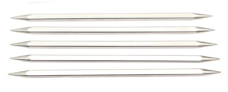 Спицы чулочные Nova cubics 4мм/20см, никелированная латунь, серебристый, 5шт в упаковке12129Nova cubics. Высококачественные квадратные спицы с инновационным латунным покрытием, наносимым гальваническим путем. Поверхность спиц гладкая как шелк, позволит Вам часами наслаждаться вязанием.