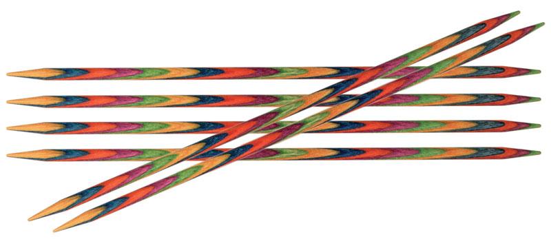Спицы чулочные Symfonie 2,5мм/10см, дерево, многоцветный, 6шт в упаковке20127Symfonie – эти изящные спицы с привлекательной, разноцветной текстурой созданы, чтобы стать любимцами у каждой рукодельницы. Очень легкие, деревянные спицы из ценных пород дерева.