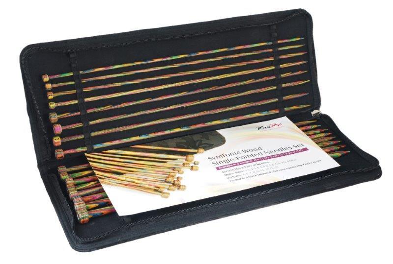 Набор прямых спиц длиной 35см Symfonie (в наборе: спицы прямые-3,5мм, 4мм, 4,5мм,5мм, 5,5мм, 6мм, 7мм, 8мм), дерево, многоцветный, 8 видов спиц в наборе20228Symfonie – эти изящные спицы с привлекательной, разноцветной текстурой созданы, чтобы стать любимцами у каждой рукодельницы. Очень легкие, деревянные спицы из ценных пород дерева.