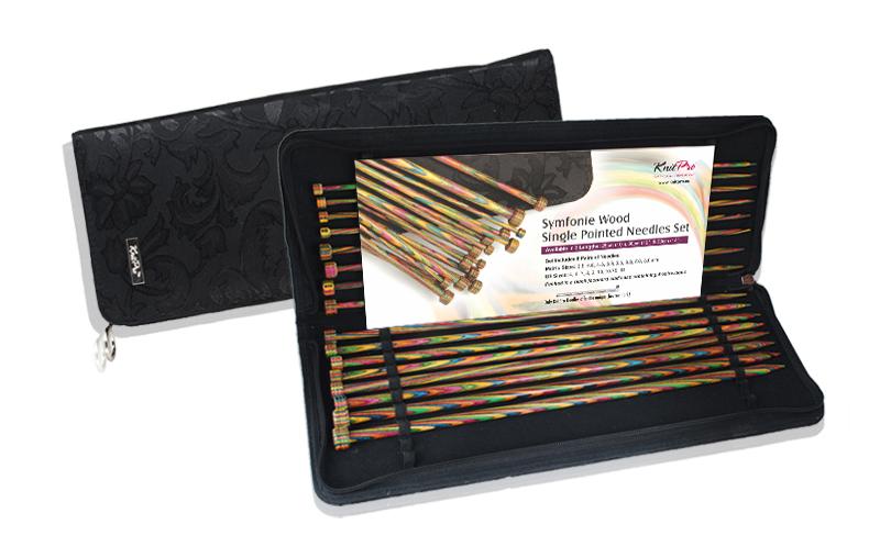 Набор прямых спиц длиной 30см Symfonie (в наборе: спицы прямые-3,5мм, 4мм, 4,5мм,5мм, 5,5мм, 6мм, 7мм, 8мм), дерево, многоцветный, 8 видов спиц в наборе20243Symfonie – эти изящные спицы с привлекательной, разноцветной текстурой созданы, чтобы стать любимцами у каждой рукодельницы. Очень легкие, деревянные спицы из ценных пород дерева.