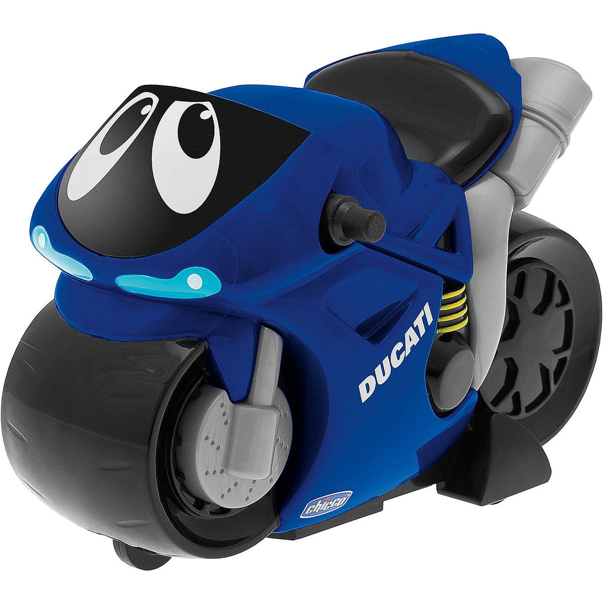 Chicco Мотоцикл Turbo Touch Ducati цвет синий