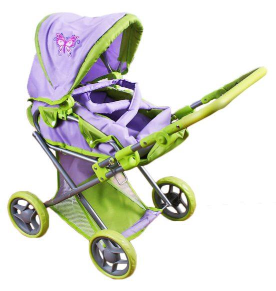 Mary Poppins Коляска-трансформер для кукол Бабочка67131Девочки обожают играть в дочки-матери! Юной и заботливой принцессе понравится катать в этой красивой колясочке свою любимую куклу. В корзинку-поддон можно положить любимые игрушки, а в съемной люльке-переноске удобно носить куклу. Игрушка предназначена для сюжетно-ролевых игр, способствующих развитию фантазии, формированию эмоциональной отзывчивости и социализации ребенка. Регулируемая ручка; Регулируемая подножка; Регулируемое положение подголовника; Регулируемый капюшон; Съемная люлька-переноска; Размер коляски (ДхШхВ) - 66х36х66 см.