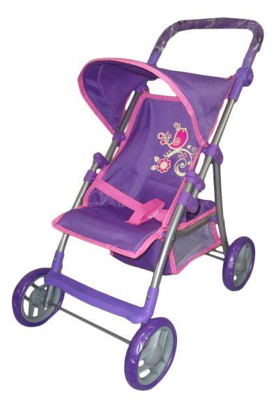 Mary Poppins Коляска для кукол Птичка67232Прогулочная коляска Птичка подойдет для игры в дочки-матери! Юной и заботливой принцессе понравится катать в этой красивой колясочке свою любимую куклу. В корзинку-поддон можно положить любимые игрушки или полезные мелочи. Характеристики: Регулируемый тканевый козырек; Ремень безопасности; Подставка для ног; Размер коляски (ДхШхВ) - 52х34х56 см.