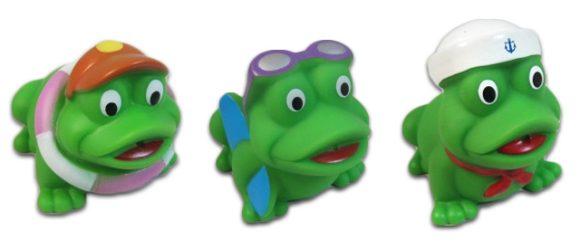 Жирафики ПВХ Набор Лягушата 3 предм.681055В наборе - три лягушонка. Эти игрушки идеально подойдут для сюжетно-ролевых и развивающих игр. Игрушки безопасны для здоровья, они не сломаются и не разобьются. Играя, ребенок развивает воображение, познавательное мышление и мелкую моторику рук.