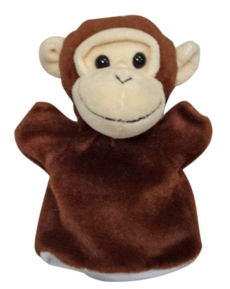 Жирафики Обезьянка, кукла на руку 16 см68353Кукла на руку Обезьянка предназначена для игры в кукольный театр. Кукла состоит из головы с отверстием для пальца и платьица из ткани. Стоит только надеть куклу на руку и подвигать пальчиками, как сказка оживет! Играя в кукольный театр, малыш развивает воображение и мелкую моторику рук. Размер куклы: 16 см .