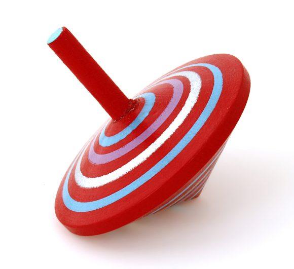 Mapacha Волчок Спиралька, цвет: красный76417Волчок Спиралька- игрушка для самых маленьких. Способствует развитию координации и моторики рук. Выполнена из качественной древесины.