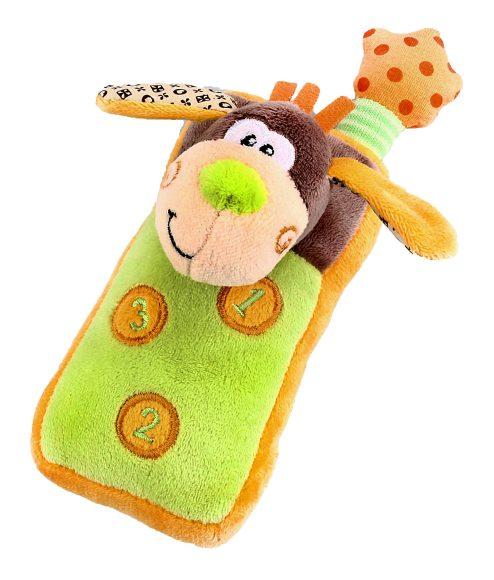 Жирафики Развивающая игрушка Мобильный телефон93593Этот мягкий и удобный игрушечный телефончик легко поместится в детской ладошке. Если нажать на цифры, то послышится звук звонящего телефона. Играя, ребенок развивает слух, тактильные ощущения и мелкую моторику рук