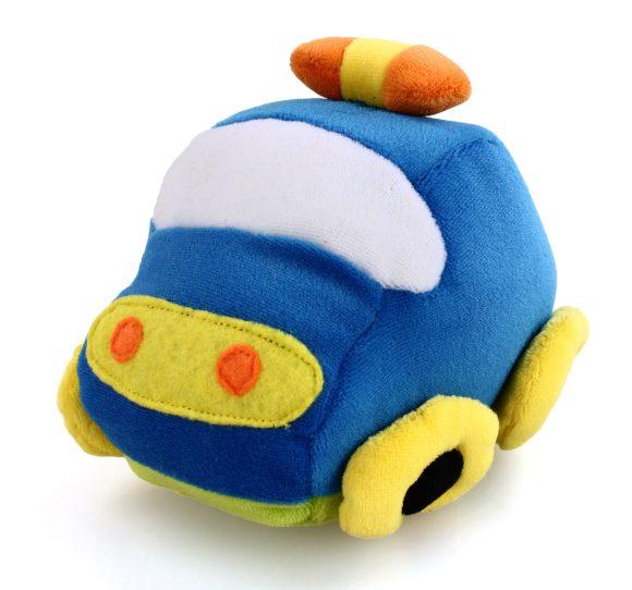 Жирафики Развивающая игрушка Машинка93659Эта милая машинка с нарисованными глазками умеет двигаться! Если потянуть машинку за «хвостик», она закружится, забавно вибрируя. Играя, ребенок развивает моторику рук и тактильные ощущения.