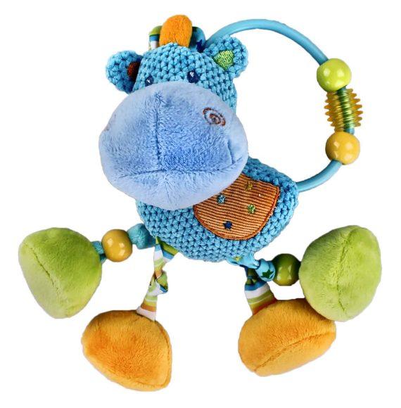 Жирафики Развивающая игрушка Подвеска Бегемотик с погремушкой