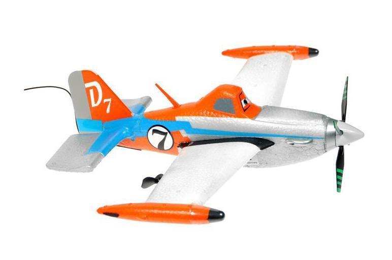 Dickie Toys Самолет на радиоуправлении Дасти масштаб 1:20 ( 3089806 )