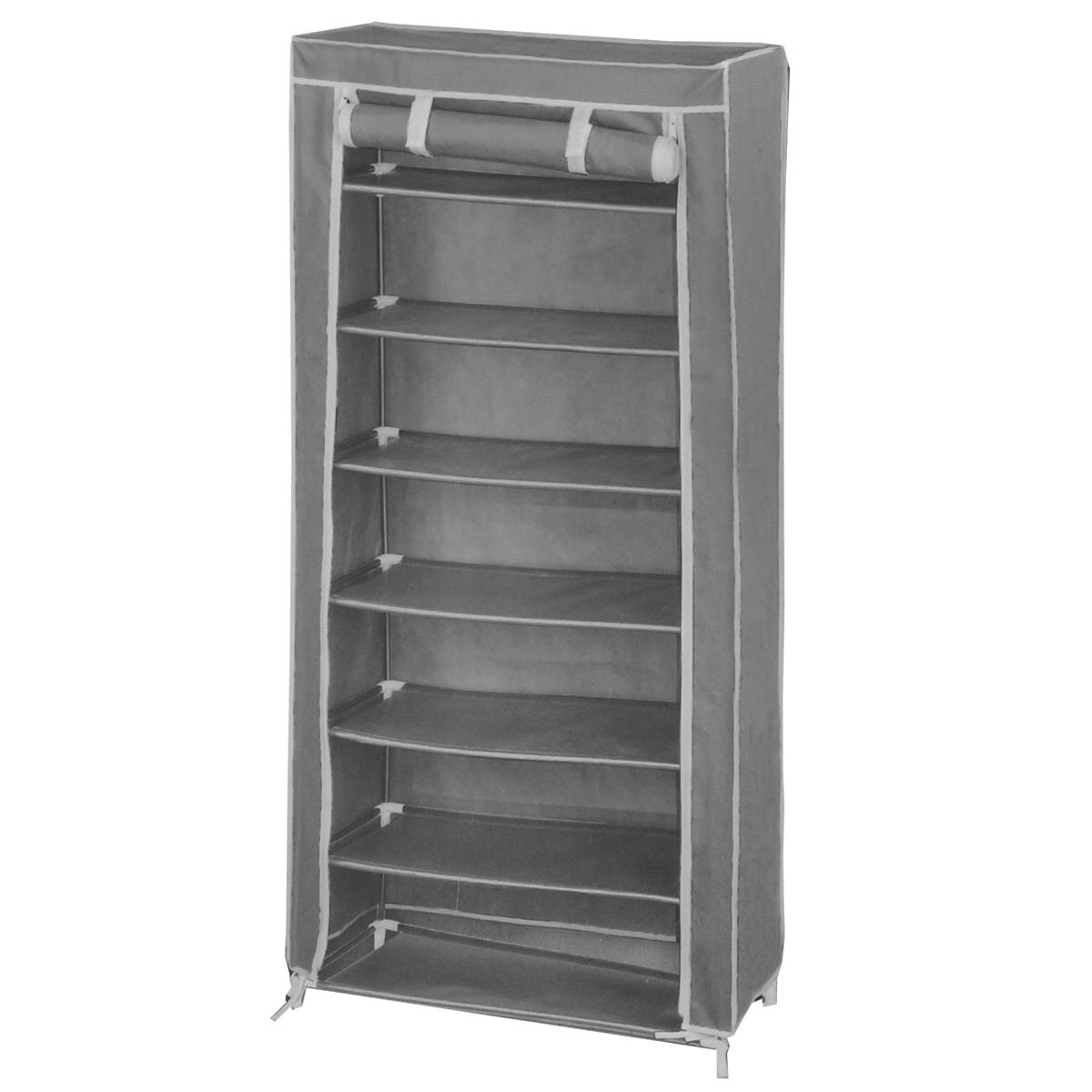 Мобильный шкаф для хранения, цвет: серый, 61 см х 30 см х 123 см ( WD-5120 )