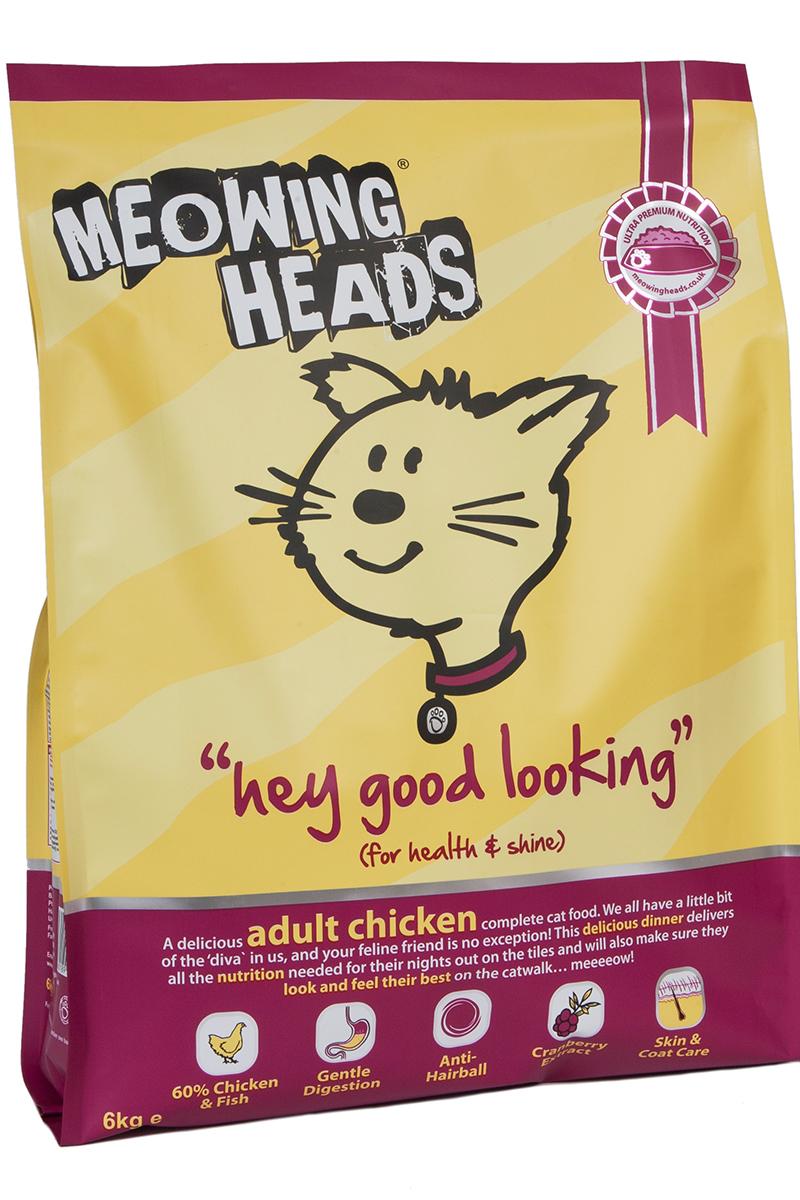 Корм сухой Для Взрослых кошек с Курицей и рисом