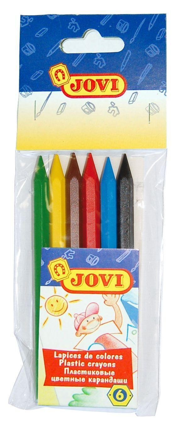 Цветные карандаши, пластиковые 6цв. в блистере962/6xСостоят только из пишущего стержня, могут затачиваться, экономично расходуются. Не пачкают рук, не имеют запаха. Развивает мелкую моторику