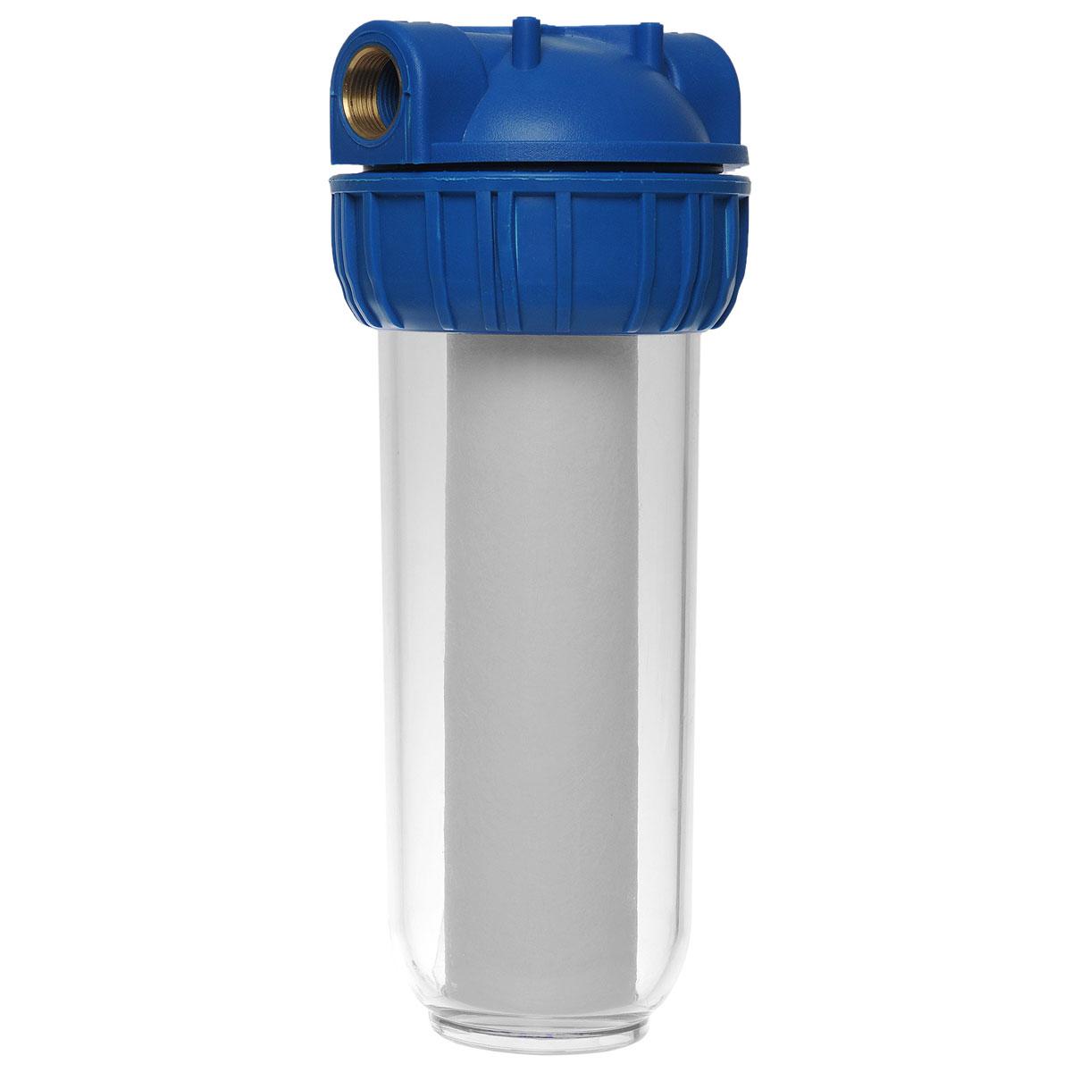 Фильтр для воды ЭкоДоктор 1Л, 3/4111010Фильтр ЭкоДоктор предназначен для тонкой очистки воды от механических частиц, удаления песка, ржавчины и улучшения показателей мутности и цветности воды. Он имеет увеличенный ресурс и степень очистки. Собран из импортных высококачественных комплектующих. Колба имеет прозрачный корпус из прочного пластика и одинарное уплотнительное кольцо. В комплект фильтра входят колба, картридж, кронштейн для крепления на стену, ключ для замены картриджей, инструкция по эксплуатации.