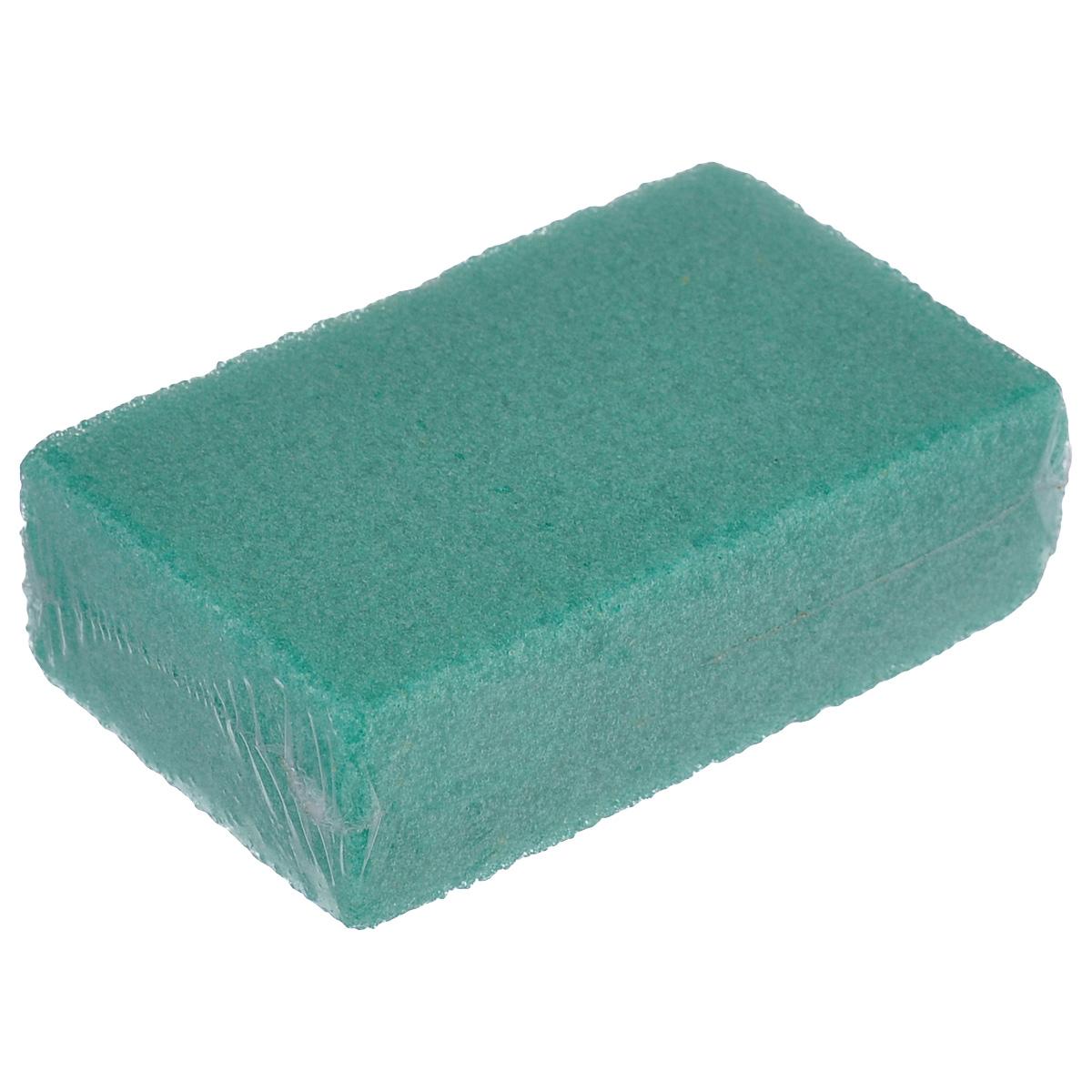 Пемза искусственная Eva, цвет: зеленый, 8 см х 5 см х 2,5 смТ74_зеленыйИскусственная пемза Eva изготовлена из пенополиуретана. Она в одно мгновение справиться с огрубевшей кожей ног. После ее использования кожа ваших ног станет гладкой и эластичной. Этот замечательный аксессуар пригодится и в ванной, и в бане.