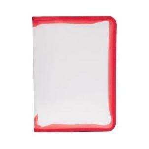 Папка (А4) на молнии, цвет: красный4