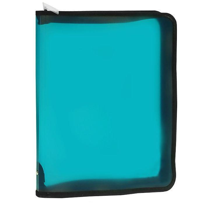 Папка (А4+) на молнии, цвет: зеленый50120