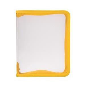 Папка (В5) на молнии, цвет: желтый50058