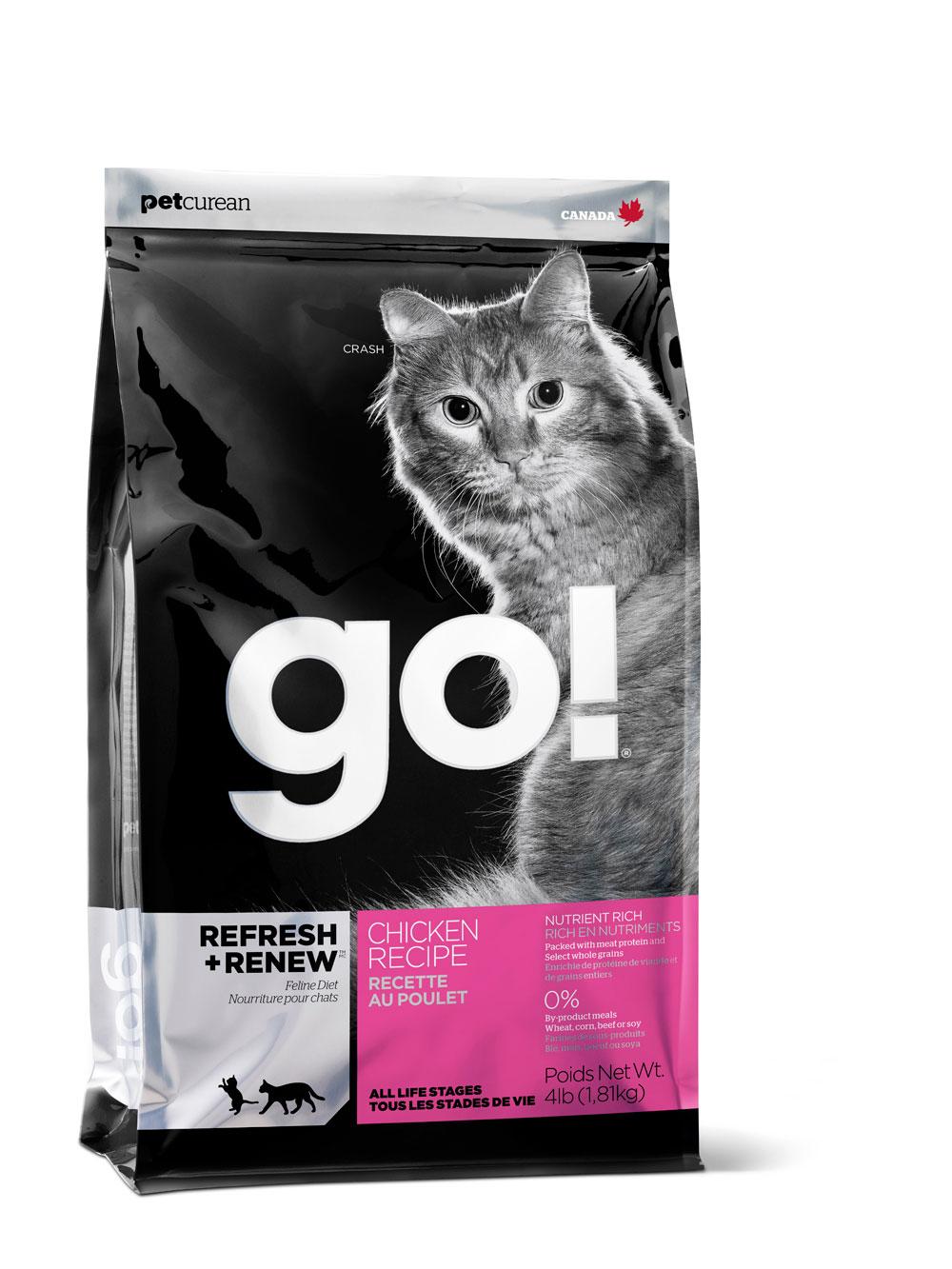 Корм сухой Go! для кошек и котят, с курицей, фруктами и овощами, 1,81 кг20027Корм для котят и кошек Go! - полноценный корм обогащенный питательными веществами, обеспечивающий здоровье и активность вашего питомца на протяжении всей его жизни. В состав корма входят высококачественные источники белков, фрукты и овощи, богатые антиоксидантами и все необходимые жирные кислоты. Ключевые преимущества: - Полностью беззерновой, - Не содержит субпродуктов, красителей, говядины, мясных ингредиентов, выращенных на гормонах, - Превосходный вкус, - Мелкие крокеты будут по вкусу самым привередливым кошкам, - Таурин необходим для здоровья глаз и нормального функционирования сердечной мышцы, - Сложные углеводы - отличный источник энергии, - В составе Омега-кислоты необходимые для здоровой кожи и шерсти, - Антиоксиданты укрепляют иммунную систему. Состав: свежее мясо курицы, филе цыпленка, коричневый цельный рис, цельный белый рис, овсянка, куриный жир (источник витамина Е), мясо лосося, ...