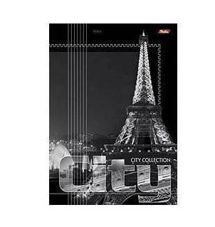 Тетрадь 96л А4ф линия на скобе серия -City Collection-, Paris96Т4B4ParisТетрадь с обложкой из картона, защищающей бумагу от деформации. Отличный выбор для Вашего ребенка!