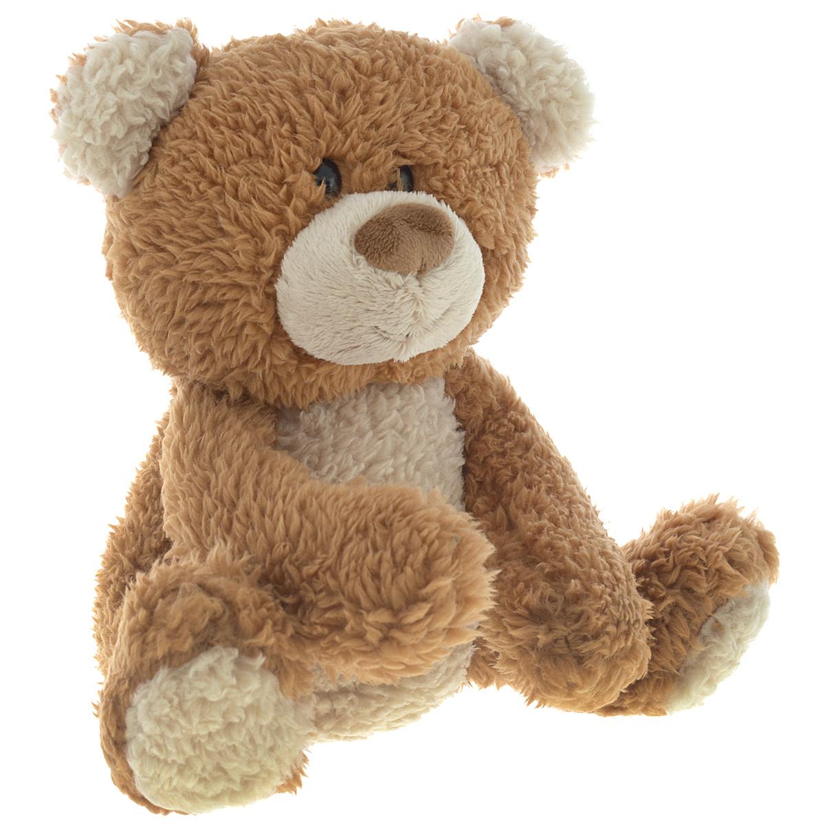 Мягкая игрушка Медведь, цвет: коричневый, 25,5 см4046288_коричневыйОчаровательная мягкая игрушка Медведь, выполненная в виде медвежонка коричневого цвета, вызовет умиление и улыбку у каждого, кто ее увидит. Удивительно мягкая игрушка принесет радость и подарит своему обладателю мгновения нежных объятий и приятных воспоминаний. Она выполнена из мягких волокон с набивкой из гипоаллергенного синтепона с добавлением пластиковых гранул. Великолепное качество исполнения делают эту игрушку чудесным подарком к любому празднику.