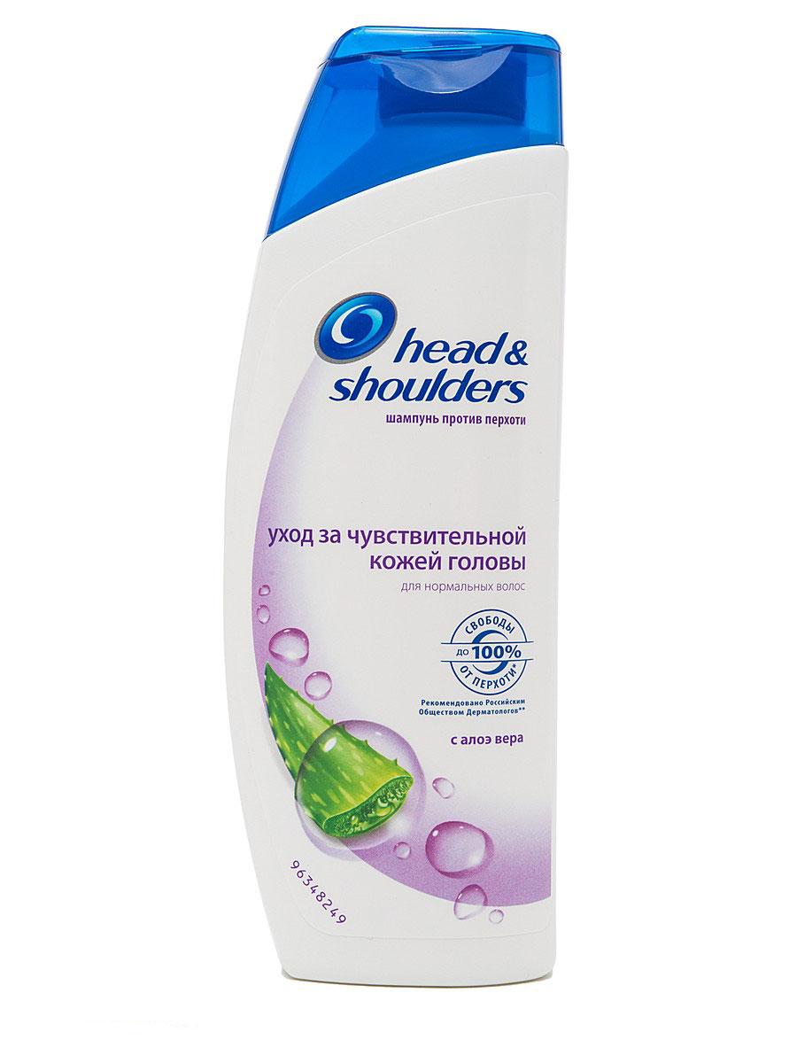 Шампунь против перхоти Head & Shoulders Уход за чувствительной кожей головы, 400 млHS-81207708