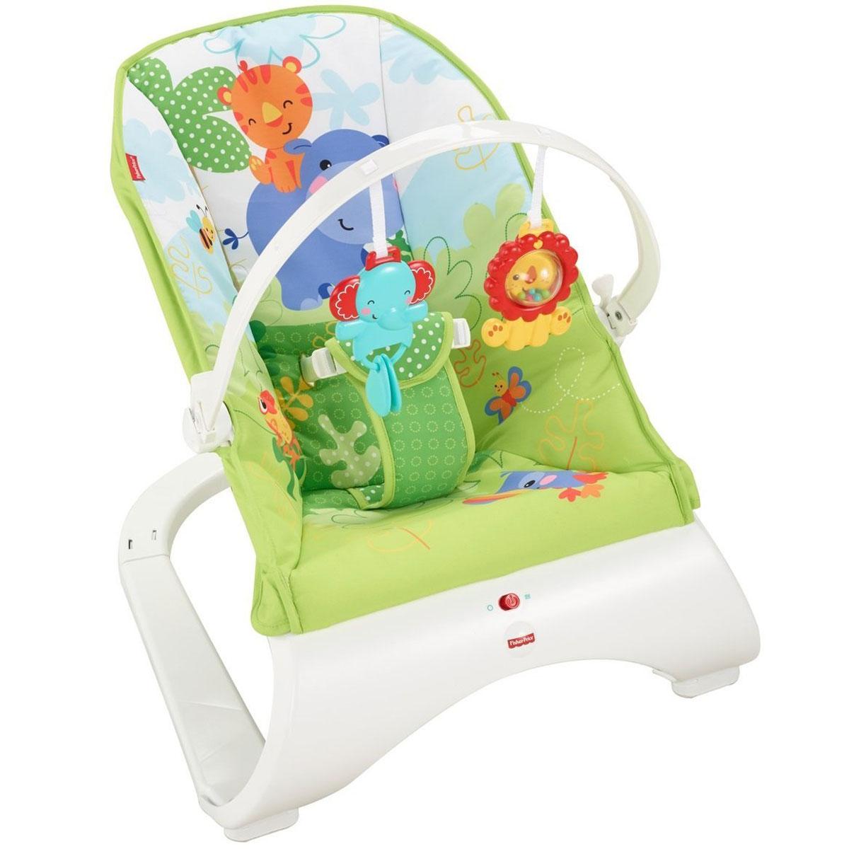 Массажное кресло-качалка Fisher Price