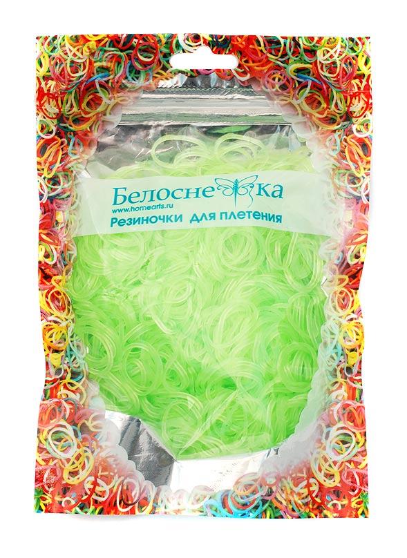 Резиноки для плетения, 1000 шт., неоновые светло-зеленый15100123РРезинки для плетения - 1000 шт. S и C - образные крепления- 32 шт.
