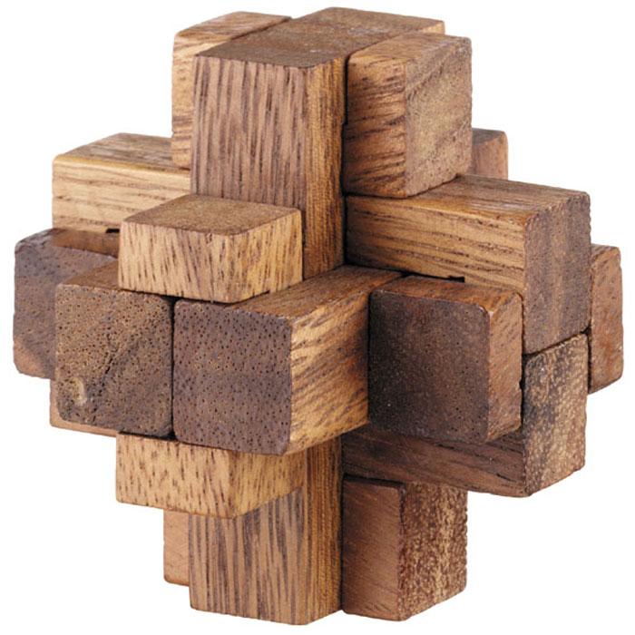 Dilemma Головоломка Алмазный куб 2IQ116Головоломка Dilemma Алмазный куб 2, выполненная из дерева, станет отличным подарком всем любителям головоломок! Разберите пазл и соберите его снова в форме алмазного куба. Слишком сложно? Воспользуйтесь подсказкой из предложенного решения. Игра рассчитана на одного игрока. Головоломка Dilemma Алмазный куб 2 стимулирует логику, пространственное мышление и мелкую моторику рук.