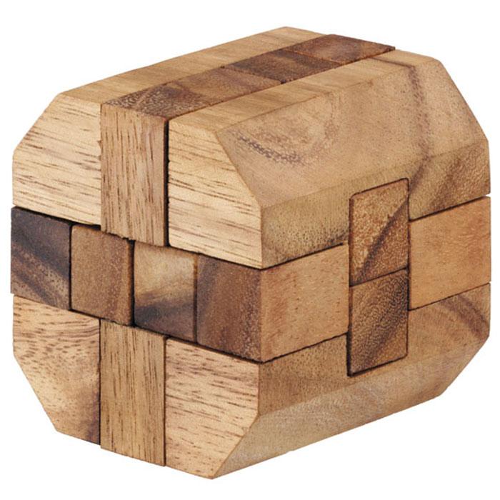 Dilemma Головоломка Алмазный куб 6IQ124Головоломка Dilemma Алмазный куб 6, выполненная из дерева, станет отличным подарком всем любителям головоломок! Разберите пазл и соберите его снова в форме алмазного куба. Слишком сложно? Воспользуйтесь подсказкой из предложенного решения. Игра рассчитана на одного игрока. Головоломка Dilemma Алмазный куб 6 стимулирует логику, пространственное мышление и мелкую моторику рук.