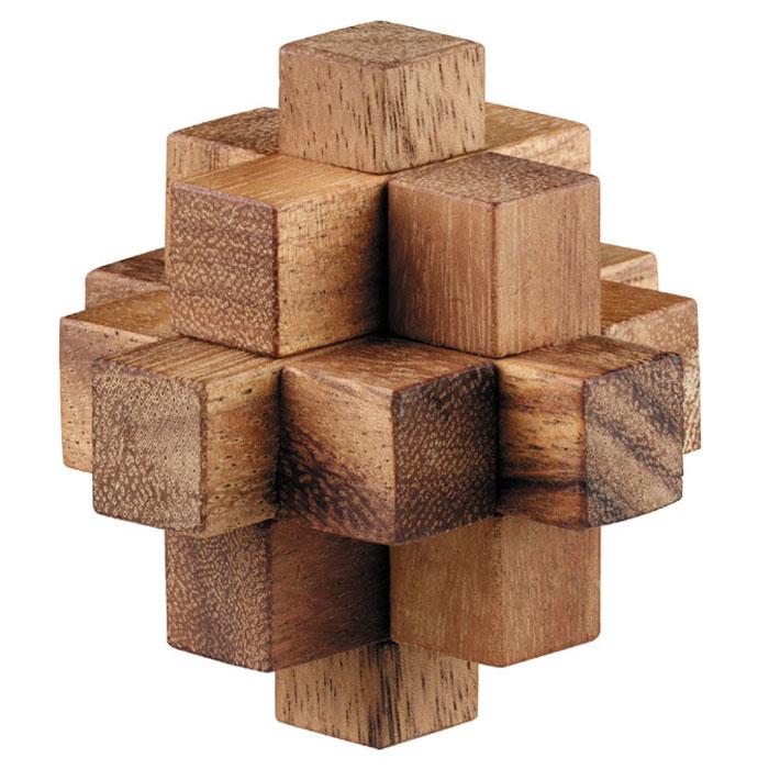 Dilemma Головоломка Падающая звезда IQ123A 5х5х5 смIQ123AГоловоломка Dilemma Падающая звезда, выполненная из дерева, станет отличным подарком всем любителям головоломок! Состоит из 9 деревянных элементов. Некоторые элементы одинаковой формы, так что всего здесь 4 разных вида элементов. Необходимо разобрать куб и собрать его снова. Рассчитана на одного игрока. Головоломка Dilemma Падающая звезда стимулирует логику, пространственное мышление и мелкую моторику рук.