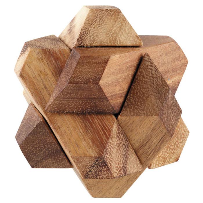 Dilemma Головоломка Падающий шарIQ121Головоломка Dilemma Падающий шар, выполненная из дерева, станет отличным подарком всем любителям головоломок! Пазл состоит из 6 деревянных деталей. Разберите пазл и соберите его снова в трехмерную пересекающуюся конструкцию. Игра рассчитана на одного игрока. Головоломка Dilemma Падающий шар стимулирует логику, пространственное мышление и мелкую моторику рук.