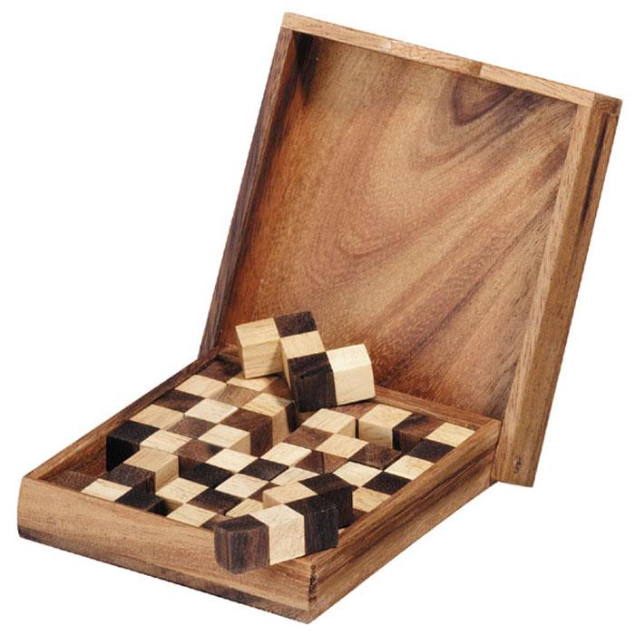 Dilemma Головоломка Пенто шахматыIQ952Головоломка Dilemma Пенто шахматы, выполненная из дерева, станет отличным подарком всем любителям головоломок! Игра состоит из 13 деталей. 12 сделаны из 5 кубиков, соединенных различными способами, а одна представляет собой квадрат. Вы можете собрать 60 разных пазлов! Все они высокого уровня сложности. Игра рассчитана на 1-2 игроков. Головоломка Dilemma Пенто шахматы стимулирует логику, пространственное мышление и мелкую моторику рук. В комплект с головоломкой входит инструкция на русском языке с решениями.