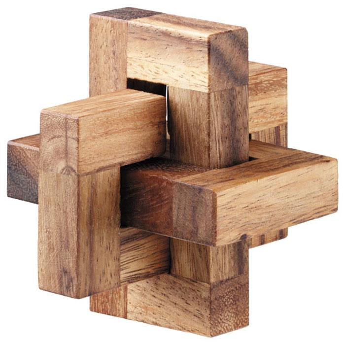 Dilemma Головоломка С С ОIQ101Головоломка Dilemma С. С. О, выполненная из дерева, станет отличным подарком всем любителям головоломок! Пазл состоит из 3 деревянных деталей в форме букв С, С и О. Попытайтесь собрать эти элементы в трехмерный объект. Игра рассчитана на одного игрока. Головоломка Dilemma С. С. О стимулирует логику, пространственное мышление и мелкую моторику рук.