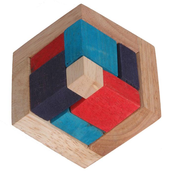 Dilemma Головоломка Цветная пирамидаIQ511Головоломка Dilemma Цветная пирамида, выполненная из дерева, станет отличным подарком всем любителям головоломок! Пазл состоит из основания и 9 цветных деревянных деталей. Попробуйте собрать цветную пирамиду. Слишком сложно? Воспользуйтесь предложенным решением в качестве подсказки. Игра рассчитана на одного игрока. Головоломка Dilemma Цветная пирамида стимулирует логику, пространственное мышление и мелкую моторику рук.
