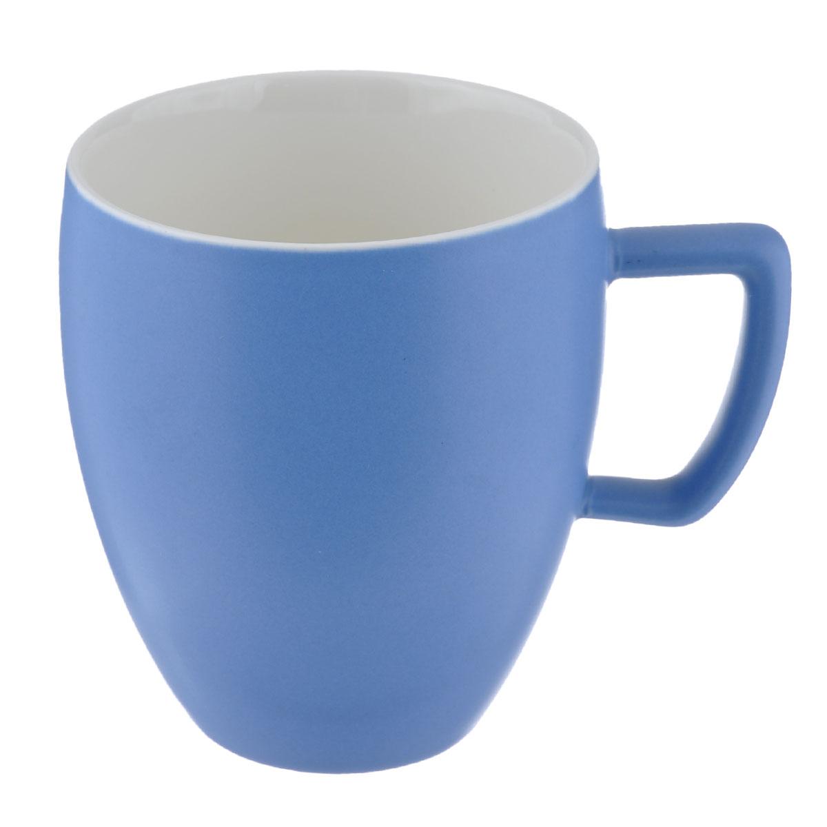 Кружка Tescoma Crema Tone, цвет: голубой, 300 мл387146Кружка Tescoma Crema Tone, изготовленная из высококачественного фарфора, прекрасно дополнит интерьер вашей кухни. Изящный дизайн кружки придется по вкусу и ценителям классики, и тем, кто предпочитает утонченность и изысканность. Кружка Tescoma Crema Tone станет хорошим подарком к любому празднику. Диаметр (по верхнему краю): 8 см. Высота: 10 см.