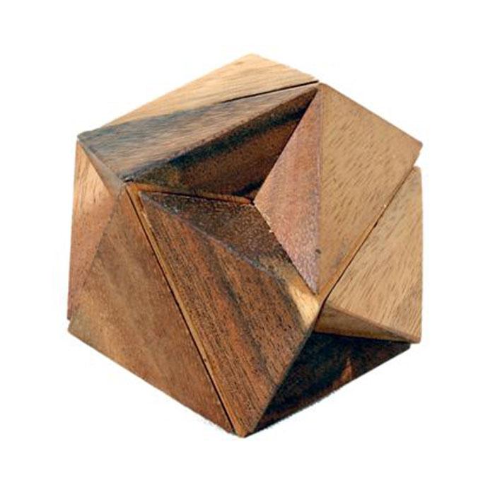 Dilemma Головоломка Звездные войныIQ172Головоломка Dilemma Звездные войны, выполненная из дерева, станет отличным подарком всем любителям головоломок! Головоломка, состоящая из 6 деревянных элементов, предназначена для одного игрока. Необходимо разобрать изделие и собрать снова в трехмерную пересекающуюся конструкцию. Если слишком сложно, то вы можете воспользоваться подсказкой, которая находится в инструкции. Головоломка Dilemma Звездные войны стимулирует логику, пространственное мышление и мелкую моторику рук.