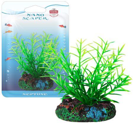Растение FOXTAIL 7см с грузом зеленое. РОГОЛИСТНИКFIPP-0106Распространение: повсеместно. Использование: растение переднего плана.