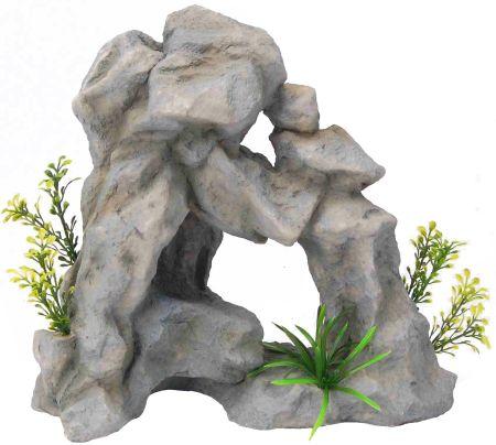 Распылитель декоративный ГРОТ С РАСТЕНИЯМИFIAD-1110Декоративный пластиковый распылитель. Вместе с основной функцией распыления воздуха является эффектным элементом декорирования аквариума.