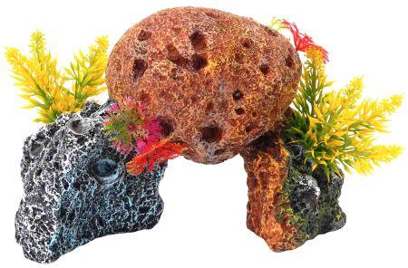 Декорация КОРАЛЛЫ 17,2х10,2х12см пластикFIAD-1121Красочный пластиковый коралл. Комбинации из различных кораллов создают в аквариуме пеструю и причудливую картину морского дна. Красочная упаковка.