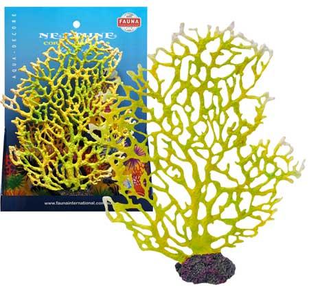 Декорация КОРАЛЛ 22х5х27см желтыйFIAD-1168Красочный пластиковый коралл. Комбинации из различных кораллов создают в аквариуме пеструю и причудливую картину морского дна. Красочная упаковка.