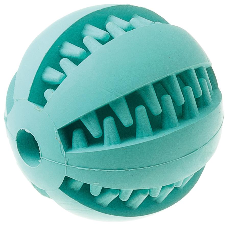 Игрушка резиновая с запахом мяты с отверстием Мяч малая 6 см 1310513105