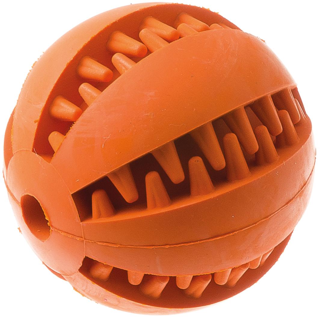 Игрушка резиновая с отверстием Мяч большая 7 см 1311713117