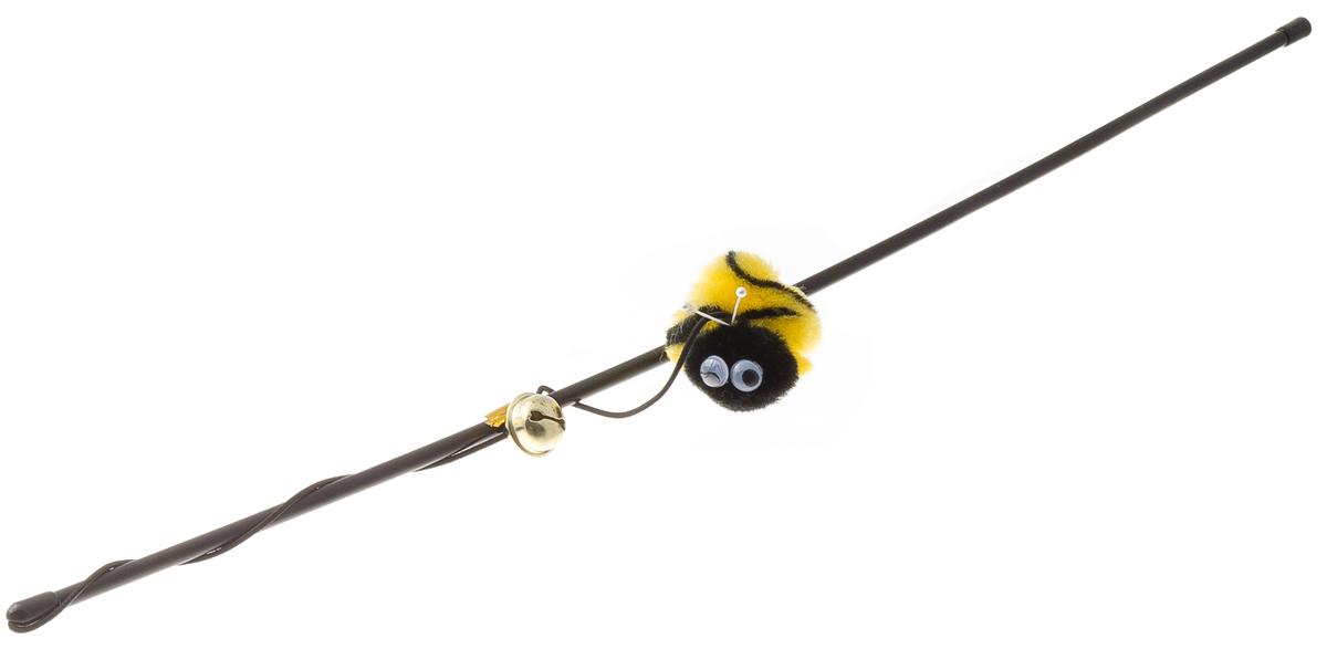 Дразнилка-удочка V.I.Pet Пчёлка с колокольчиком 30-096030-0960
